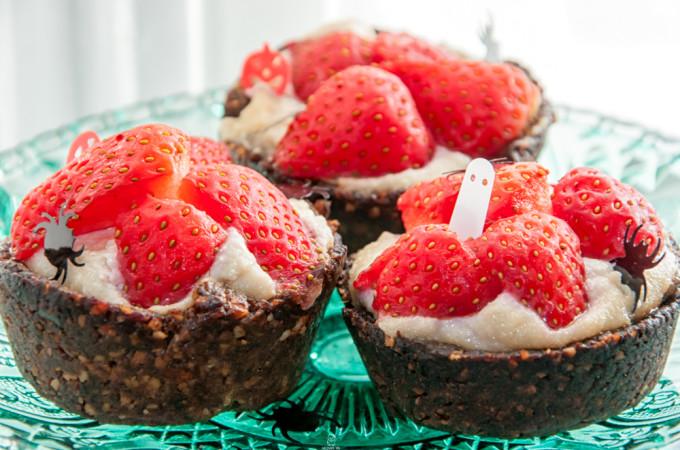 Strawberry tarts/ Ταρτακια φραουλας