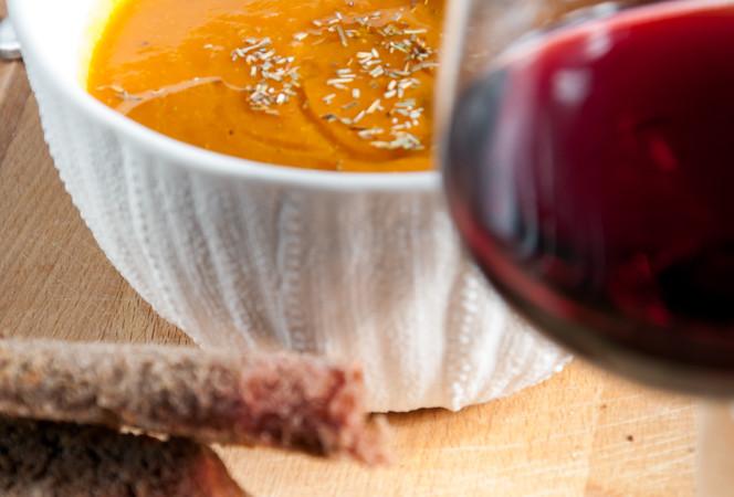 Roasted Butternut Squash soup/ Σουπα με ψητη κολοκυθα