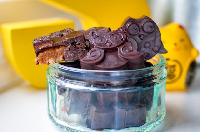 Σοκολατακια με αλατισμενη καραμελα
