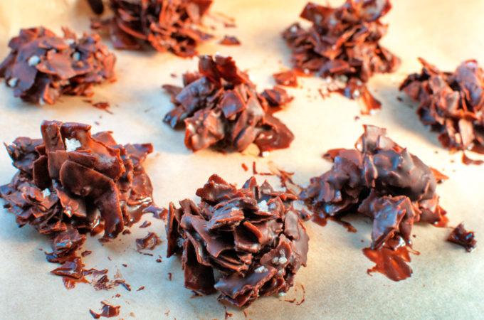 Αλατισμενα σοκολατακια καρυδας