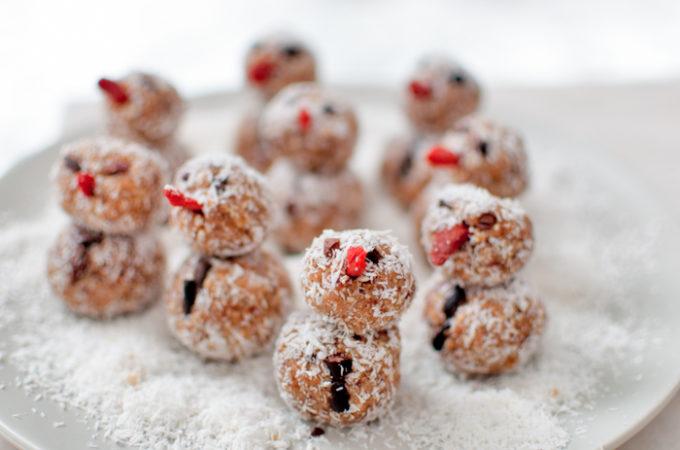 Χιονανθρωποι με super foods