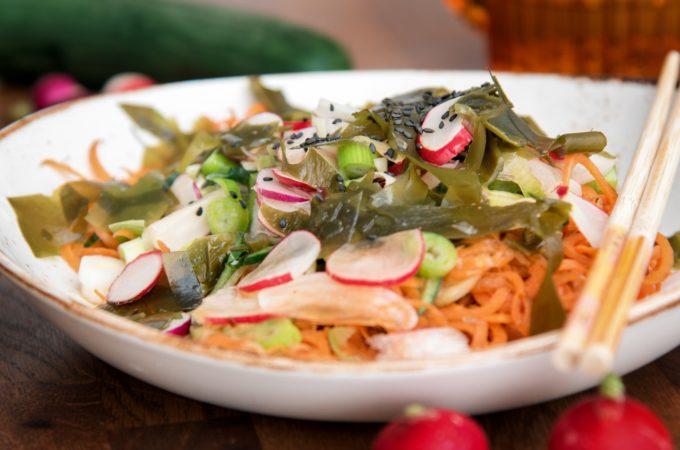 Ασιατικη σαλατα με super foods