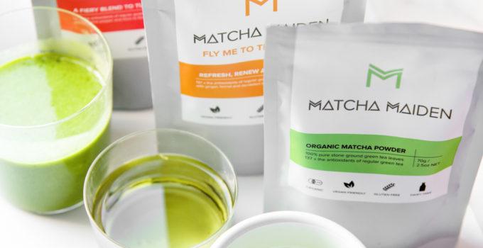 Προταση: 3 θρεπτικά ροφήματα με τα Matcha Maiden Super Blends